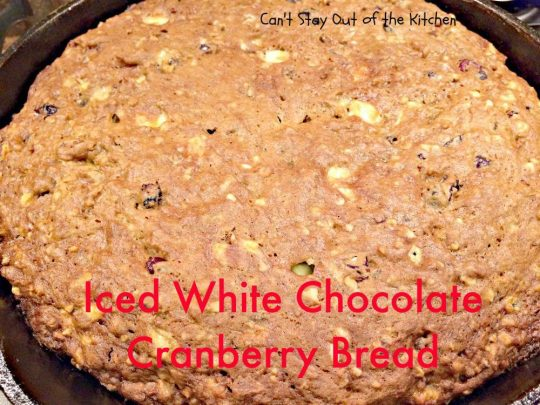 Iced White Chocolate Cranberry Bread - IMG_8538.jpg