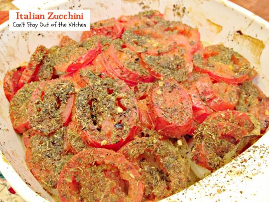 Italian Zucchini | Can't Stay Out of the Kitchen | quick and easy #zucchini and #tomato #sidedish with an #Italian flair. #vegan #glutenfree