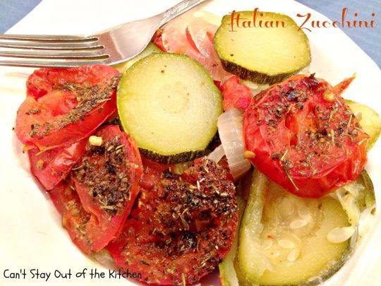Italian Zucchini - Recipe Pix 11 106