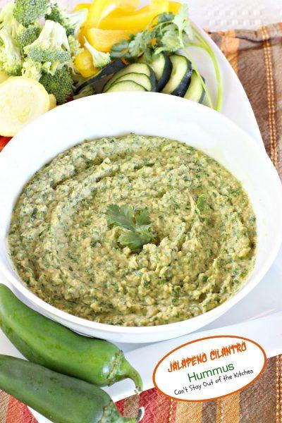 Jalapeno Cilantro Hummus - IMG_3443