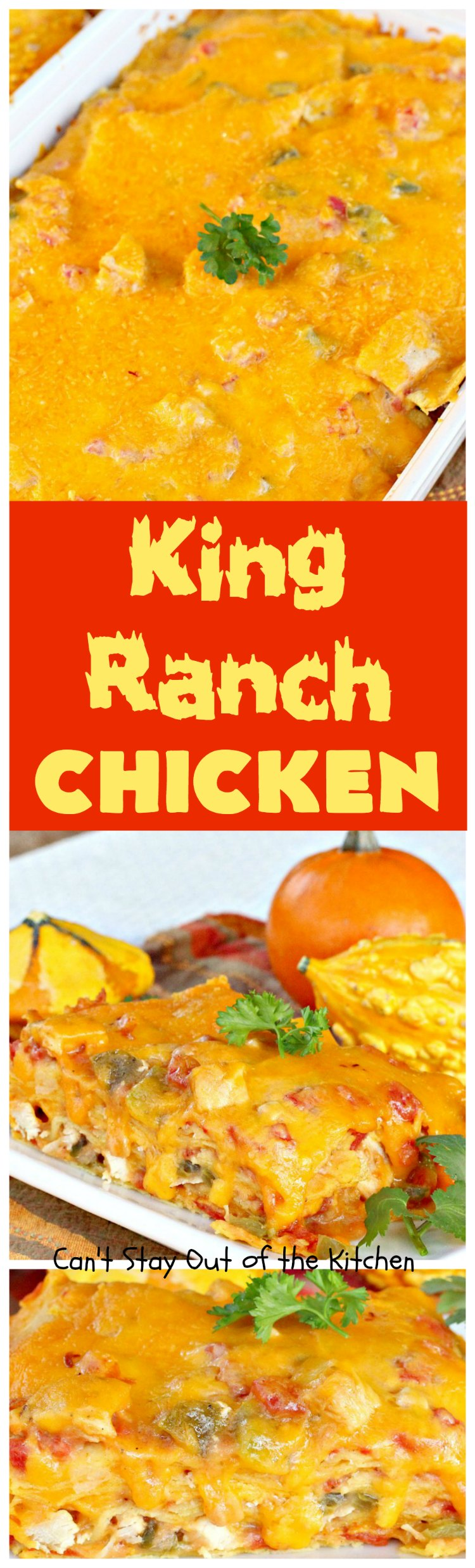 King Ranch Chicken | Can't Stay Out of the Kitchen | Amazing #Tex-Mex ...