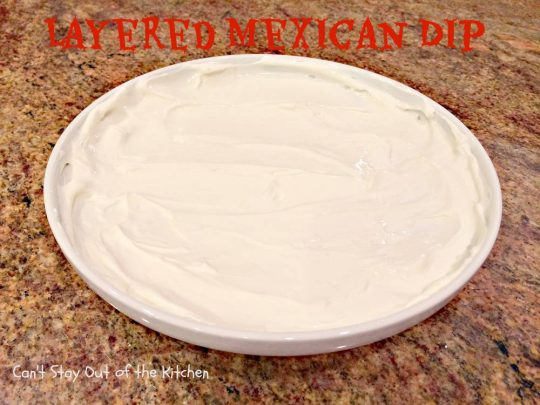 Layered Mexican Dip - IMG_0454
