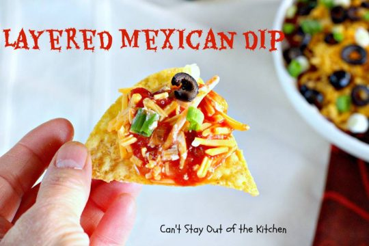 Layered Mexican Dip - IMG_6857