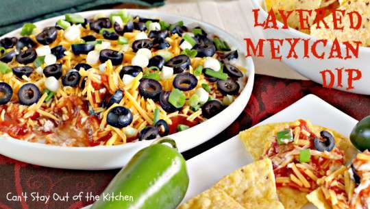 Layered Mexican Dip - IMG_6875
