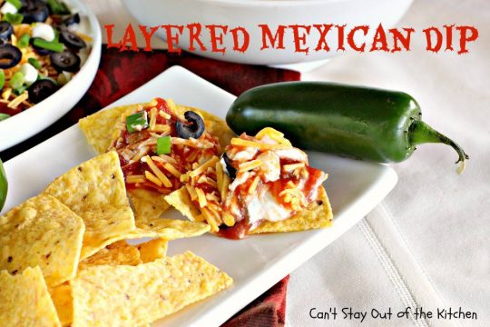 Layered Mexican Dip - IMG_6876