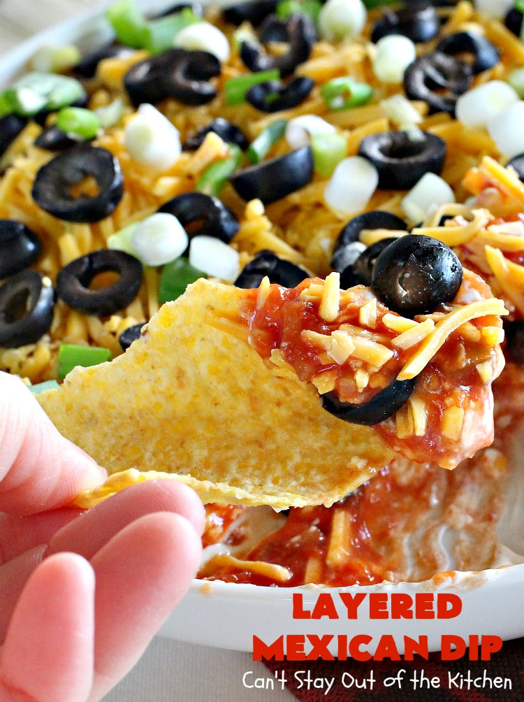 Layered Mexican Dip Can T Stay Out Of The Kitchen