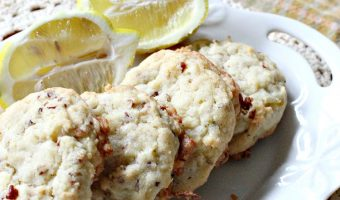 Lemon Coconut Pecan Cookies