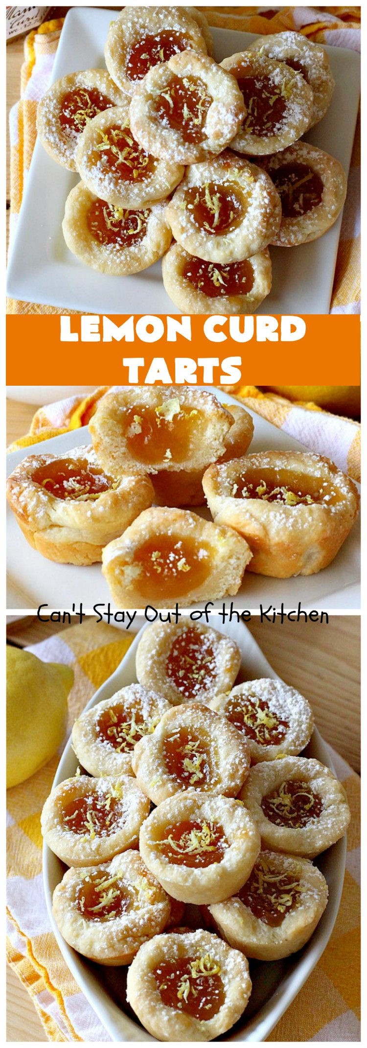 Lemon Curd Tarts   Can't Stay Out of the Kitchen