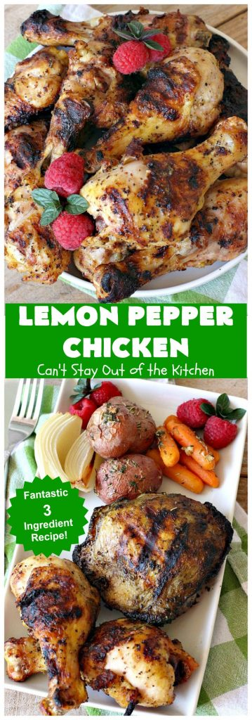 Lemon Pepper Chicken | Can't Stay Out of the Kitchen