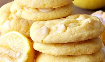 Lemon White Chocolate Cookies