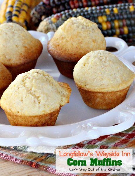 Longfellow's Wayside Inn Corn Muffins - IMG_3795