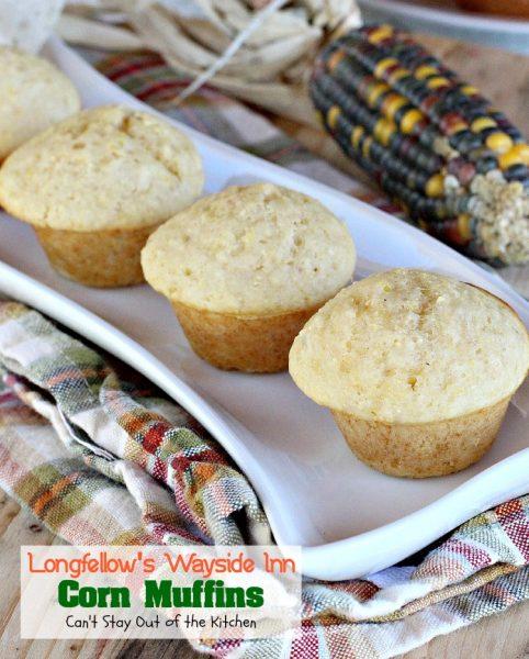 Longfellow's Wayside Inn Corn Muffins - IMG_3949