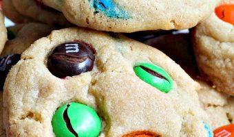 M&M Party Cookies