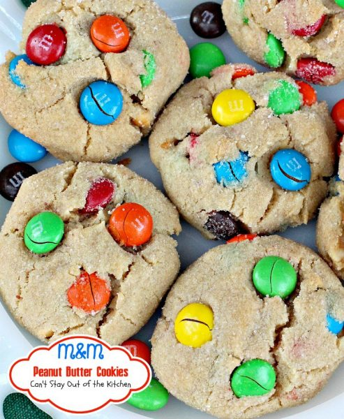 M&M Peanut Butter Cookies - IMG_0893
