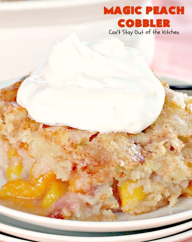 Best Peach Cobbler Recipe Ever