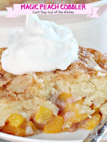 Magic Peach Cobbler Can T Stay Out Of The Kitchen