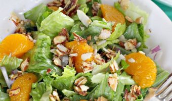 Mandarin Orange Almond Salad