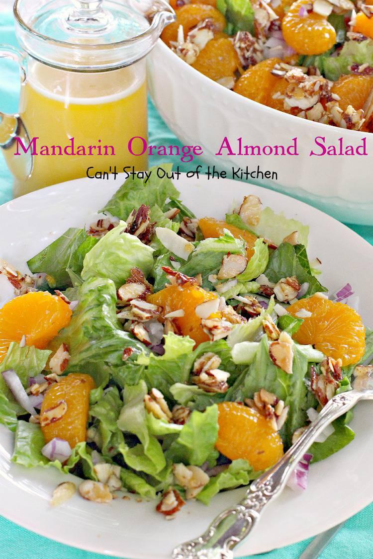recipe: mandarin orange almond salad dressing recipe [2]