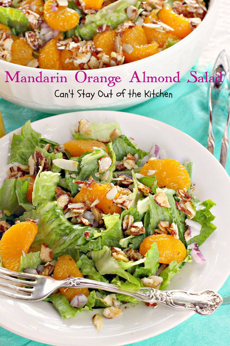 recipe: mandarin orange almond salad dressing recipe [7]