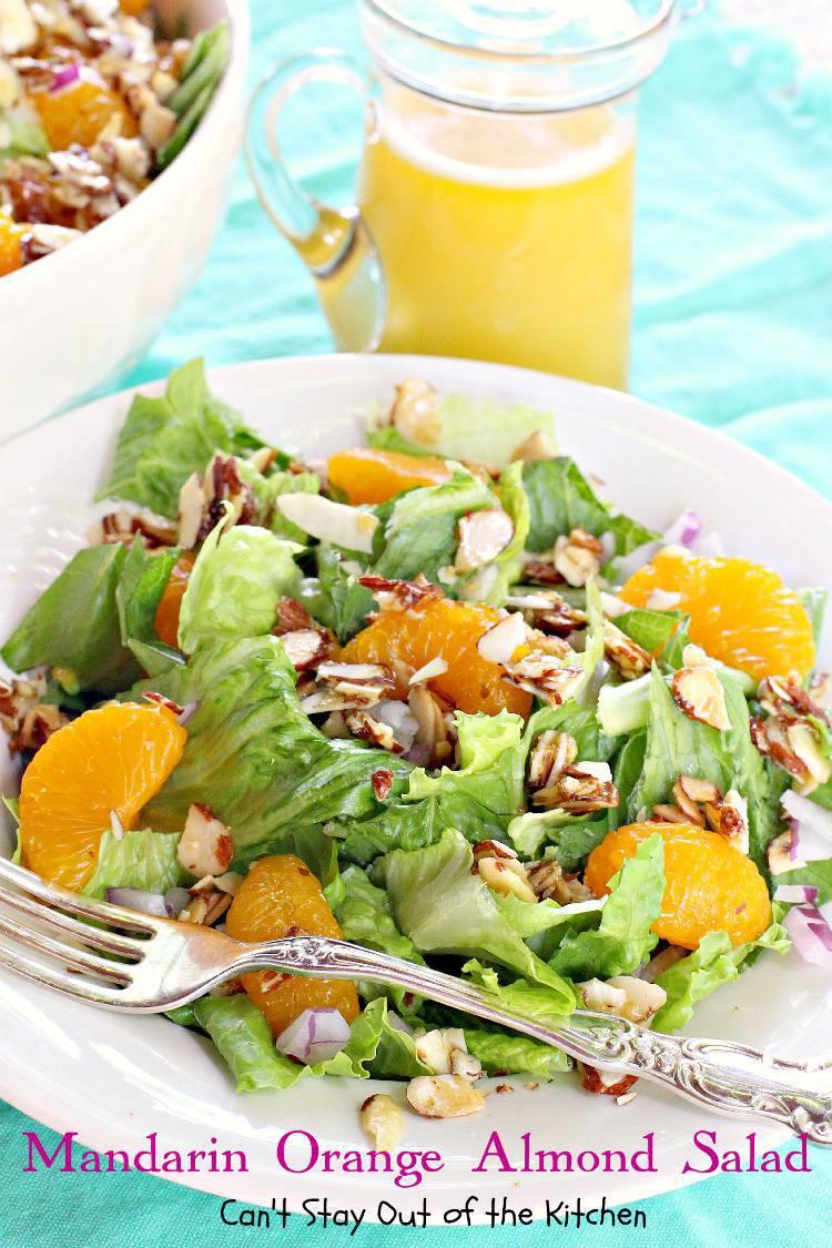 recipe: mandarin orange almond salad dressing recipe [9]