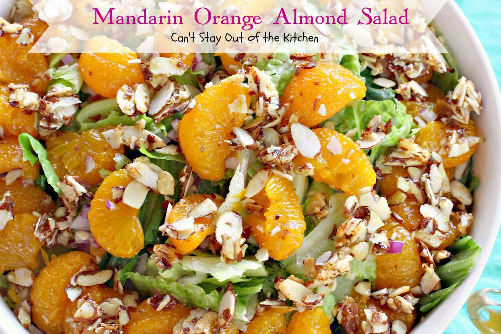 recipe: mandarin orange almond salad dressing recipe [4]