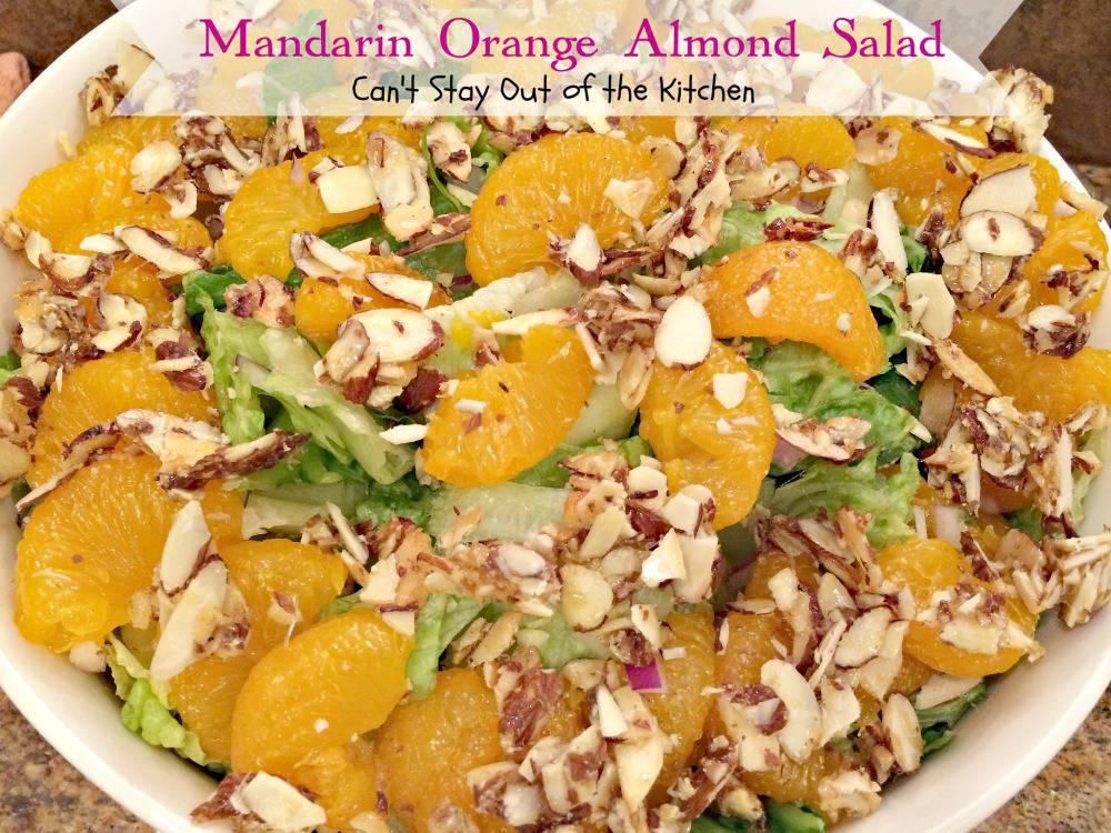 recipe: mandarin orange almond salad dressing recipe [20]