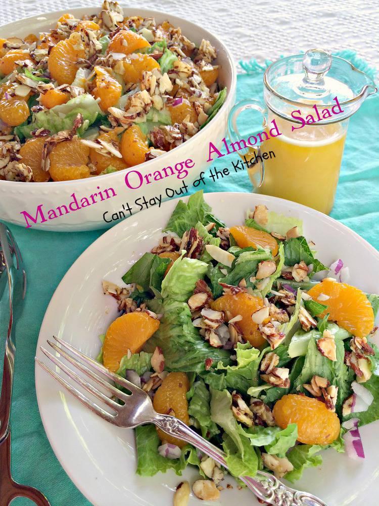 recipe: mandarin orange almond salad dressing recipe [22]
