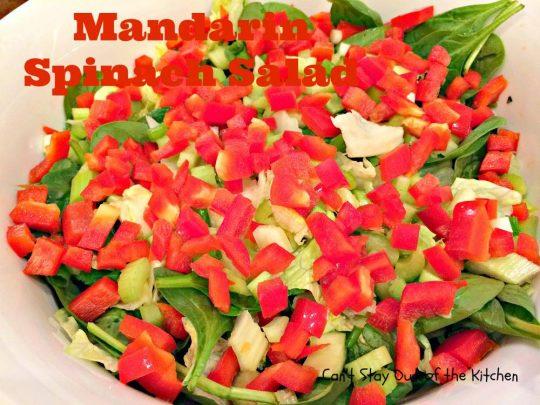 Mandarin Spinach Salad - IMG_2757