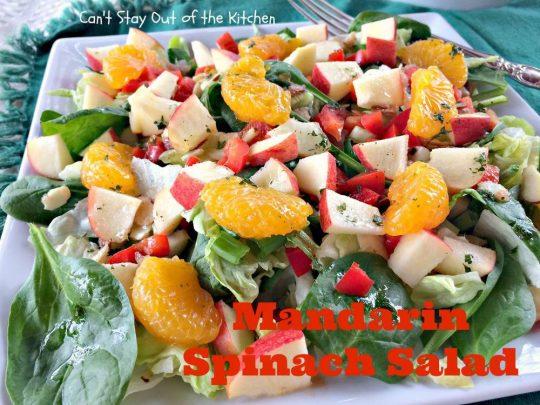 Mandarin Spinach Salad - IMG_2760