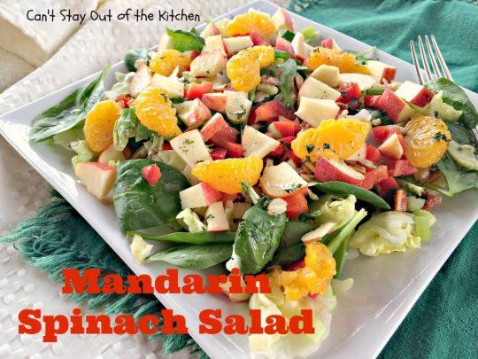 Mandarin Spinach Salad - IMG_2762