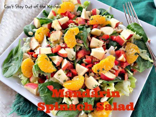 Mandarin Spinach Salad - IMG_2764