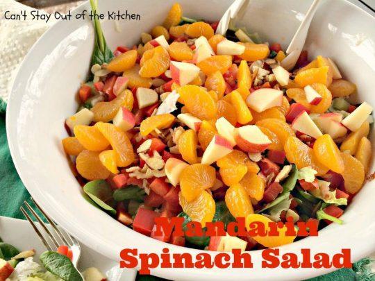 Mandarin Spinach Salad - IMG_2765