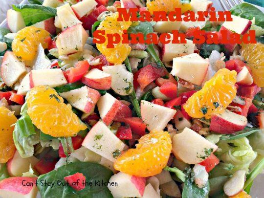 Mandarin Spinach Salad - IMG_2769