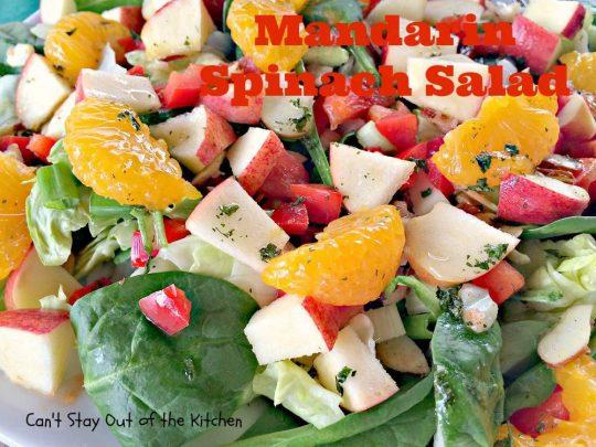 Mandarin Spinach Salad - IMG_2777
