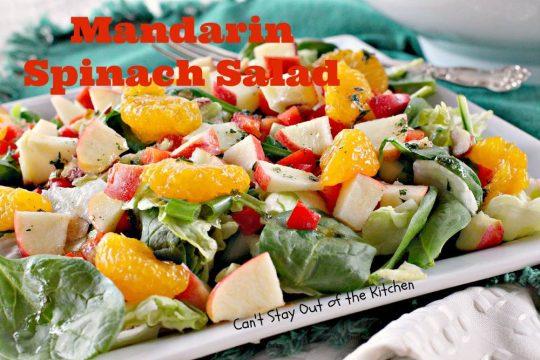Mandarin Spinach Salad - IMG_9234