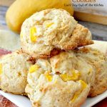 Mango Cobbler Cookies | Can't Stay Out of the Kitchen | these delightful #cookies use #mangos and #GreekYogurt and taste like eating a mango cobbler! Terrific #dessert.