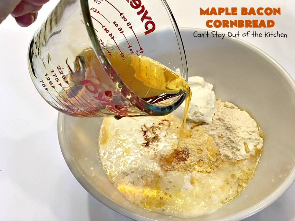 how to cook maple syrup bacon