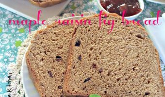 Maple Raisin Fig Bread