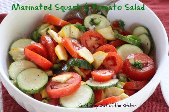Marinated Squash and Tomato Salad - IMG_0714