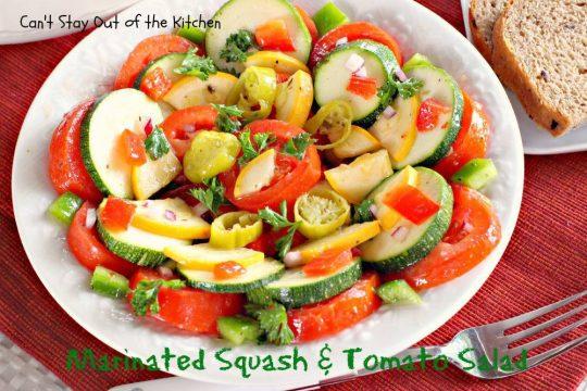 Marinated Squash and Tomato Salad - IMG_0717
