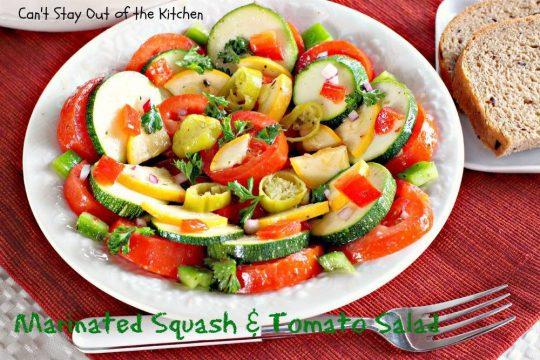 Marinated Squash and Tomato Salad - IMG_0718