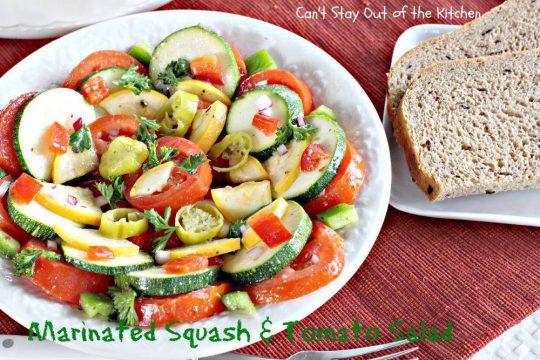 Marinated Squash and Tomato Salad - IMG_0720
