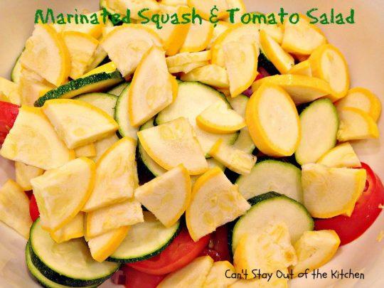 Marinated Squash and Tomato Salad - IMG_5512