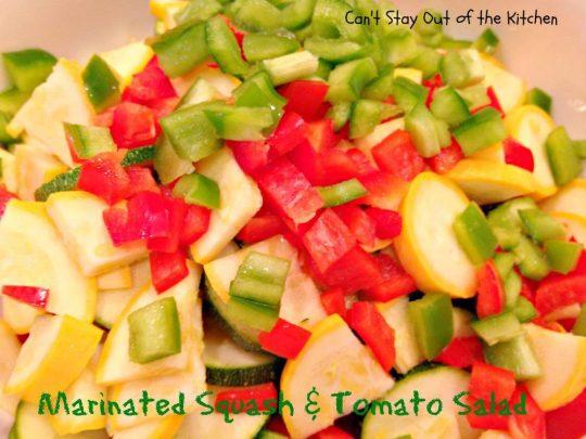 Marinated Squash and Tomato Salad - IMG_5514