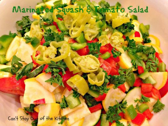 Marinated Squash and Tomato Salad - IMG_5516