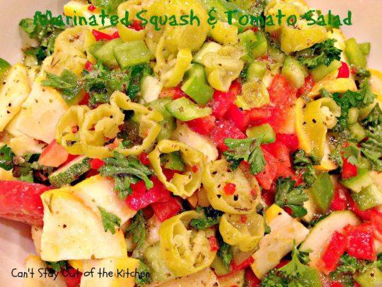 Marinated Squash and Tomato Salad - IMG_5519