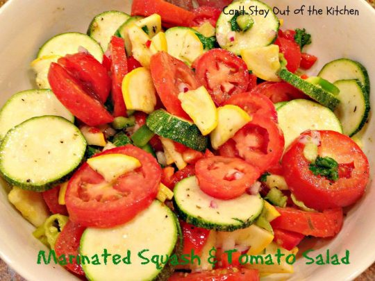 Marinated Squash and Tomato Salad - IMG_5520