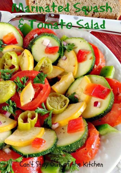 Marinated Squash and Tomato Salad - IMG_5537