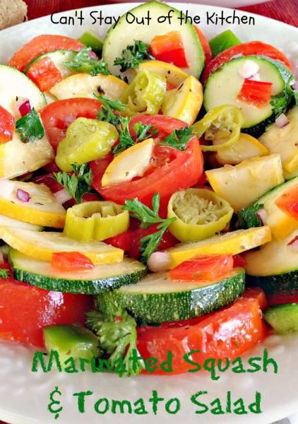 Marinated Squash and Tomato Salad - IMG_5546