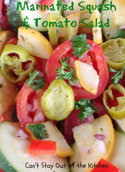 Marinated Squash and Tomato Salad - IMG_5576